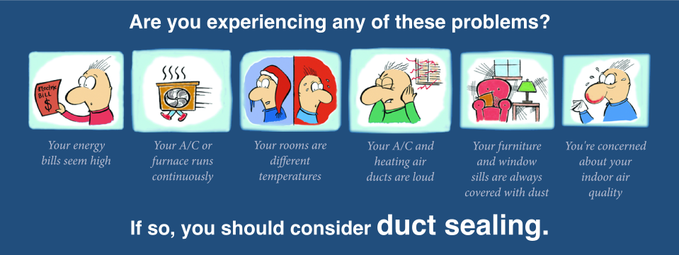 Our company is known for providing the best duct sealing service in northern VA. Read our reviews!